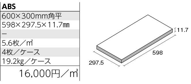 アブソリュート 形状図