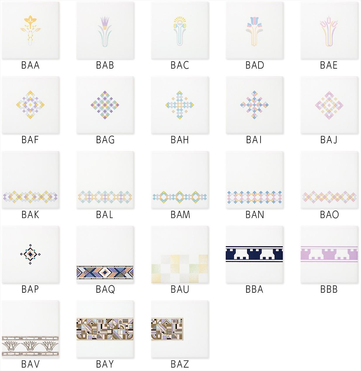 デザインタイル 150角商品画像2