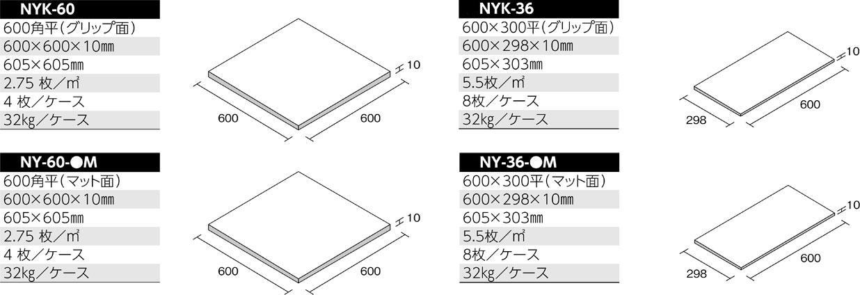 ニューヨーカー 形状図