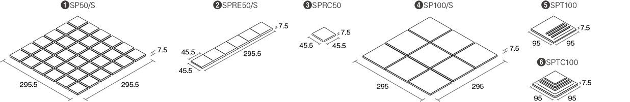 スペクル形状図